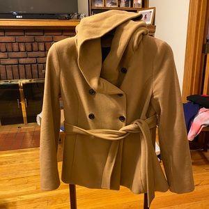 Zara wool jacket size XL